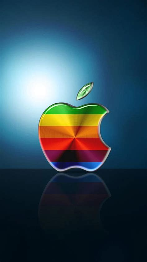 wallpaper for iphone 6 with apple logo colorful apple logo 05 iphone 6 wallpapers hd iphone 6