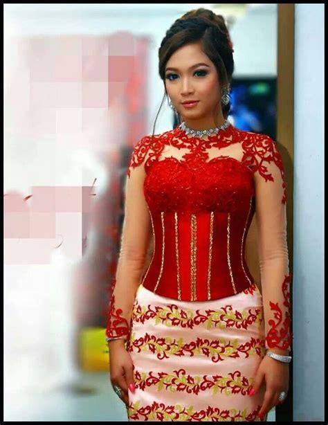 myanmar dress myanmar traditional dress