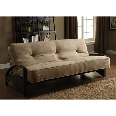 home depot futon dhp aiden black futon frame 3273098 the home depot