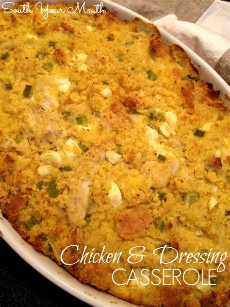 cornbread chicken casserole recipes dishmaps