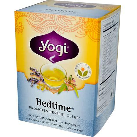 Does Chamomile Tea Detox by Yogi Tea Bedtime Caffeine Free 16 Tea Bags 85 Oz 24