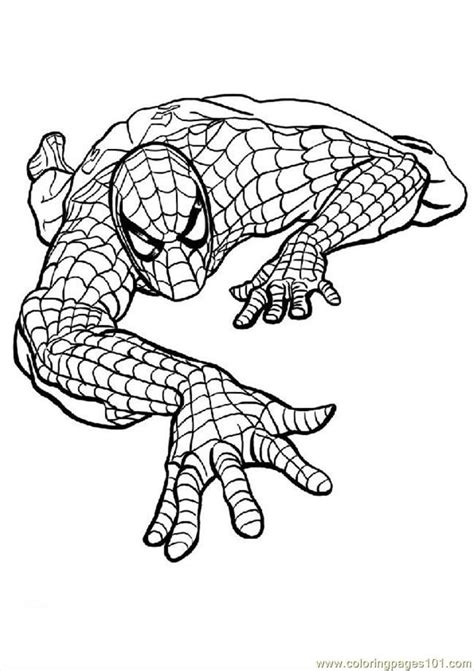 spiderman coloring pages pdf download printable coloring page spiderman coloring pages cartoons