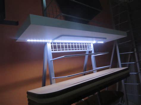 mensole led mensola led design in legno 3 misure e 6 colori batteria