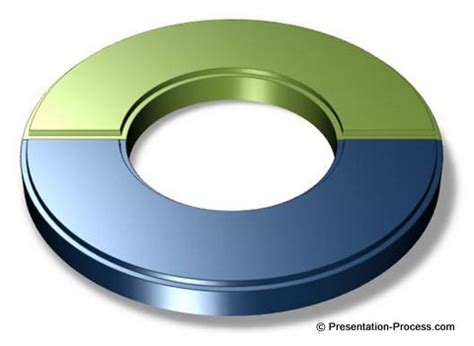 visio semicircle draw creative 3d circle in powerpoint