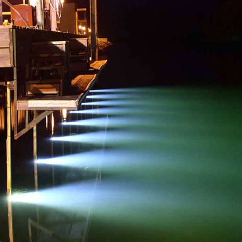 boat dock lighting fixtures hurley marine led sea vue dock light turn on the power