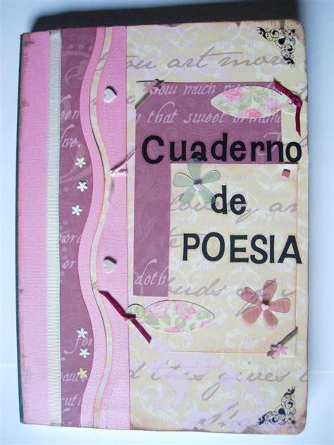 como decorar una cartulina para un proyecto las labores de mercedes cuaderno de poesia