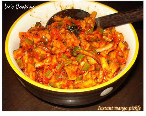 Aishaa Instant mango pickle recipe instant pickle 28 images aysha s
