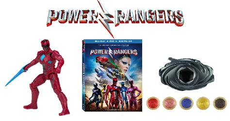 Rangers Giveaways - power rangers morph into home release in blu ray prize pack giveaway