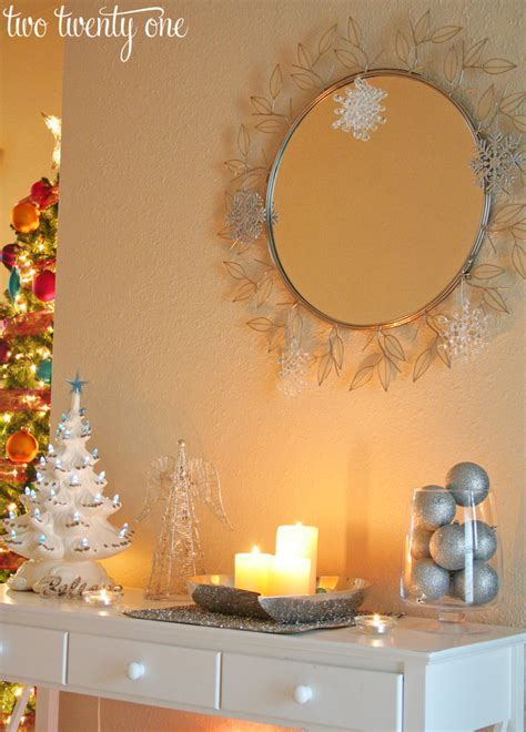 Entryway Organization Furniture Christmas Decor Part Two Entryway