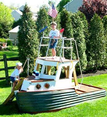 blue boat sandbox wackyinventions sandbox play boat gardening