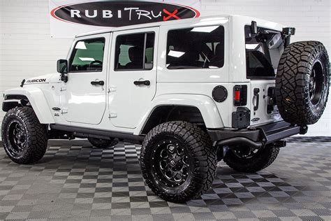 white jeep wrangler 2017 jeep wrangler rubicon unlimited hemi white