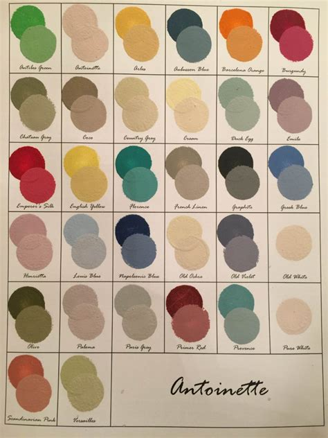 chalk paint colors mixing chalk paint 174 colors 50 50 sloan vintage now