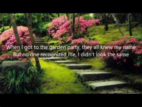 backyard party lyrics owl city garden party lyrics youtube