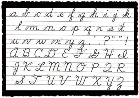 is cursive writing a thing of the past