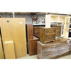 large lot of misc office furniture inc 2 oak desks and 3