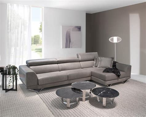Contemporary Leather Corner Sofas Contemporary Deltasalotti Charme Corner Sofa With Optional Moving Seats