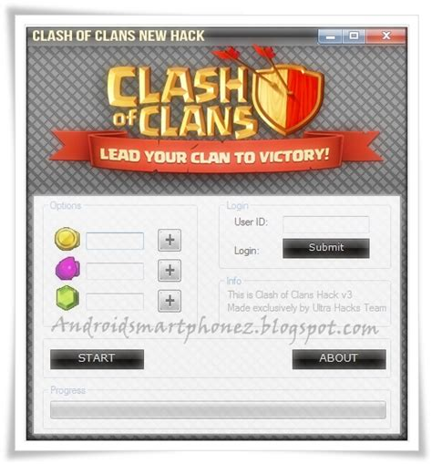 Gems Clash Of Clans Android tools gem clash of clans for android ios 2014