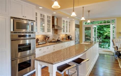 kitchen long island white kitchen with long island kitchens pinterest