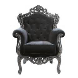 Velvet button armchair in black Barocco   Maisons du Monde