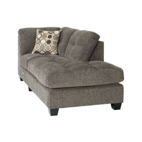 jeromes recliners trinton sectional raf chaise in pewter jerome s furniture