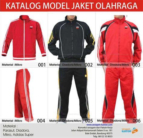 jaket training olahraga konveksi seragam kantor