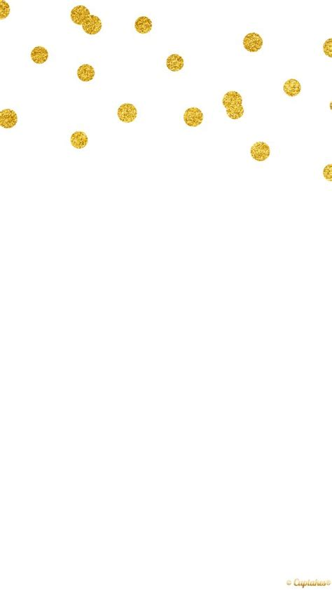 Gold confetti, Wallpapers and Dots on Pinterest