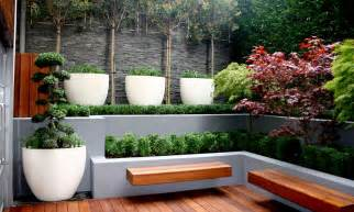 urbis design contemporary concrete planters and furniture