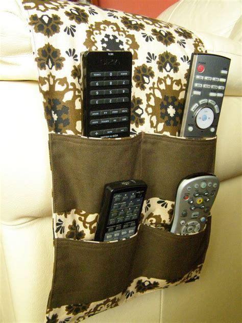 Headboard Remote Caddy Organizer Caddy Tv Remote Holder 4 Pocket Brown Print Neutral Tvs Brown And Tv Remote