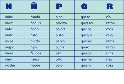 palabras con la letra q q ejemplos de palabras con q las consonantes icarito