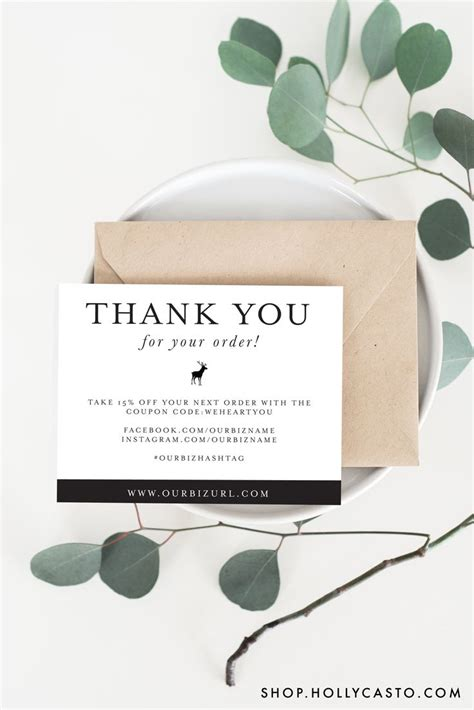 thank you cards business template best 25 business thank you cards ideas on
