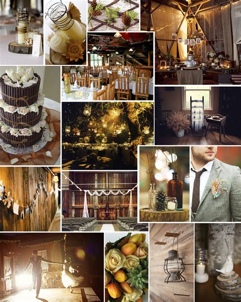 rustic themed wedding decorations themed thursday cozy cabin wedding intertwined weddings
