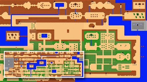legend of zelda nes map poster giant nes zelda mural reminds us to never forget about the