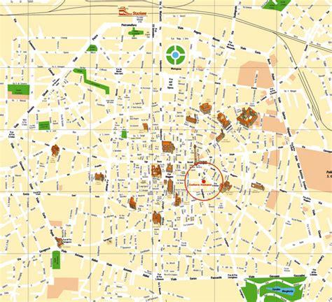 map of italy bologna bologna tourist map bologna italy mappery