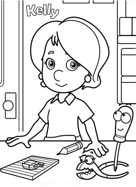 handy manny coloring pages handy manny coloring pages to and print for free