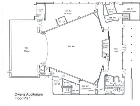 Auditorium Floor Plan by Owens Auditorium Seating Chart Amp Floor Plan Sandhills