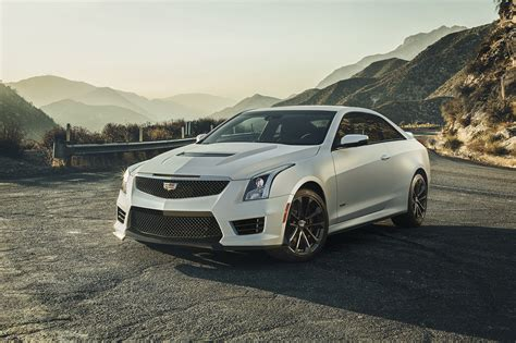 cadillac ats white 2016 cadillac ats v coupe goes after bmw m4 with 455hp