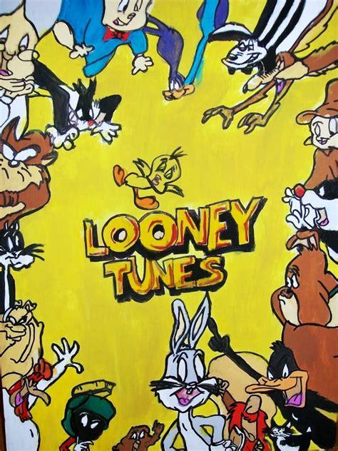 looney tunes painting looney tunes painting by reneejayy on deviantart