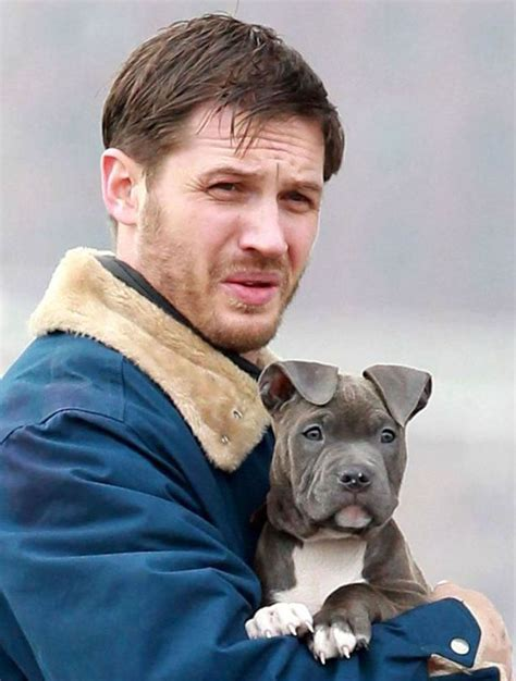 uk celebrities and their dogs tom hardy celebrities and their dogs digital spy