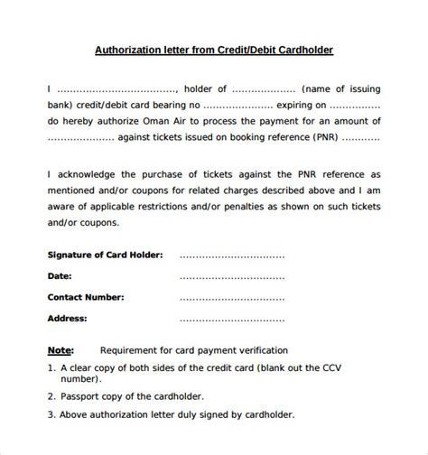 sample bank authorization letter templates ms