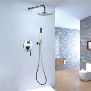 brewst brass shower shower system modern