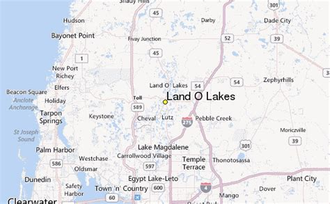 land of lakes florida map land o lakes weather station record historical weather