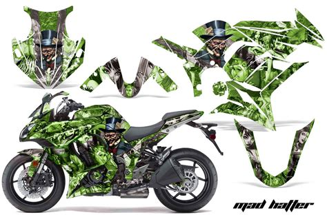 Kawasaki Zx10r Aufkleber Set by Kawasaki Zx1000 Sport Bike Graphic Kit 2010 2013