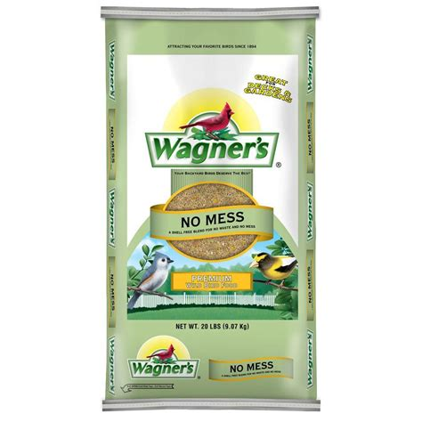 wagner s 40 lb four season wild bird food 25016 the