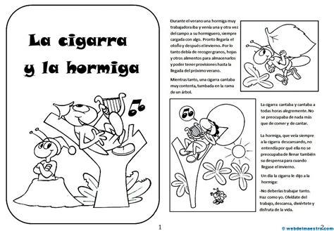 la cigarra y la lengua archives web del maestro