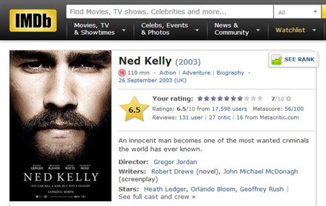 film romantis rating tertinggi imdb dusters down under part 5 ned kelly 2003 my