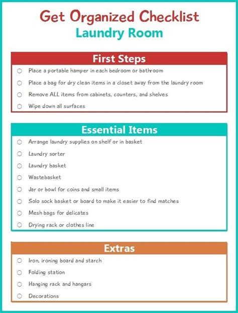 Black Friday Christmas Decorations - get organized checklist for your laundry room