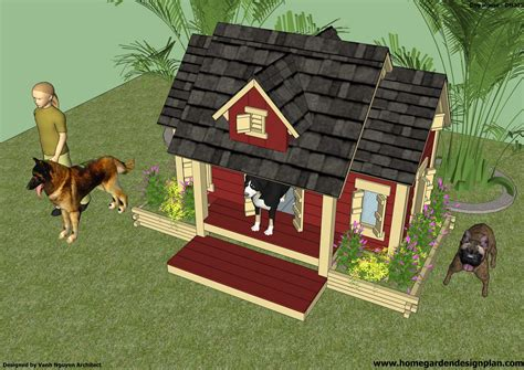 plans for a dog house home garden plans dh301 dog house plans how to build an insulated dog house