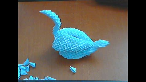 how to make 3d origami swan model6 origami how to make 3d origami swan model6