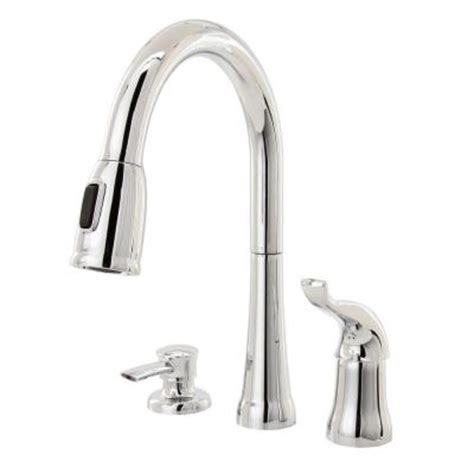 delta kate single handle pull sprayer kitchen faucet