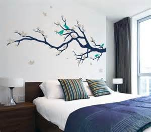 Master Bedroom Wall Decor Stickers Beautiful Japanese Tree And Birds Wall Stickers Decals In